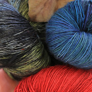 Luscious Hand-dyed Yarn