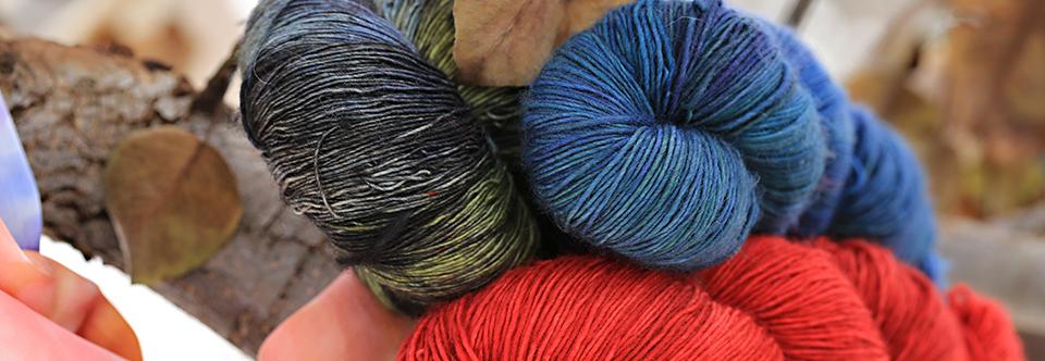 Luscious Hand-dyed Yarn