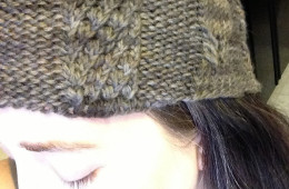 Twist Cable Hat
