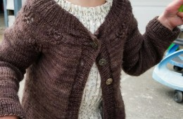 Peachick Eyes Sweater